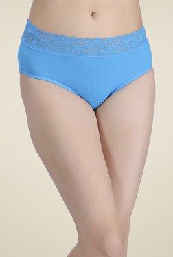 Clovia Azure Blue High Waist Hipster Panties