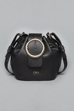 LOV By Westside Black Bella Bucket Bag
