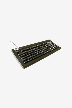 TVSE Bharat Gold PS2 Wired Keyboard (Black)