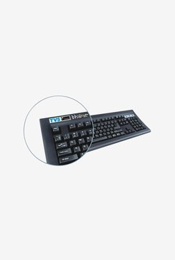 TVSE Gold USB Bharat Keyboard  Black  available at TatacliQ for Rs.2099