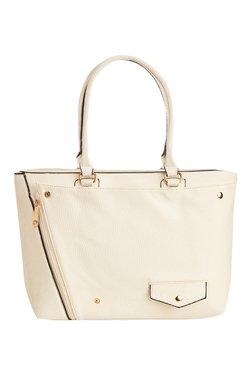 Vero Couture White Solid Shoulder Bag