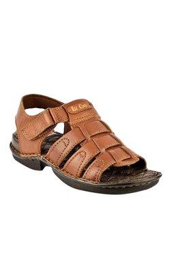Lee Cooper Tan Fisherman Sandals