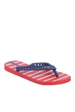 Ipanema Navy & Red Flip Flops