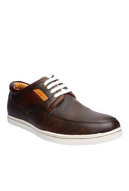 BCK By Buckaroo Berto Dark Brown & Tan Sneakers
