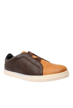 BCK By Buckaroo Logan Dark Brown Casual Slip-Ons