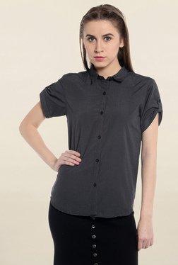 Loco En Cabeza Grey Striped Shirt