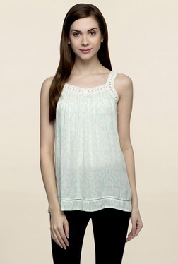 Oxolloxo Mint Printed Cami Top