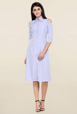 Magnetic Designs Lavender Knee Length Dress