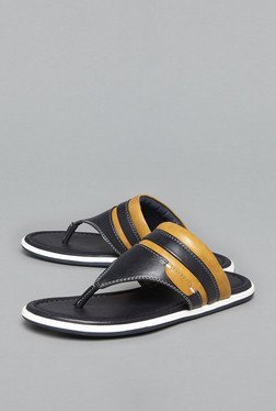 Azzurro by Westside Navy Thong Sandals