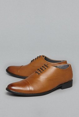Azzurro by Westside Tan Oxfords