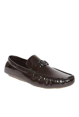 San Frissco Dark Brown Boat Shoes
