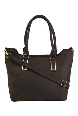 Vero Couture Black Solid Shoulder Bag