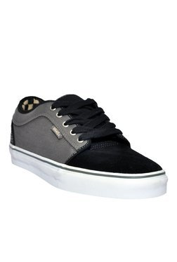 Vans Black & Grey Sneakers
