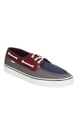 f19ebcee213f84 Vans Chauffeur Sf Maroon Boat Shoes for Men online in India at Best ...