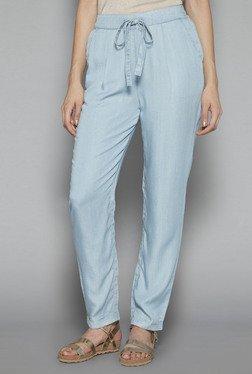 LOV By Westside Light Blue Copper Pants
