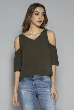 Nuon by Westside Olive Palls Blouse