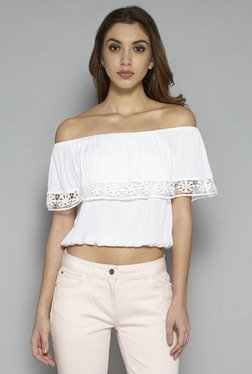 Nuon by Westside White Nitro Blouse