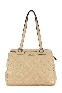 Lavie Makrana Beige Diamond Quilt Shoulder Bag