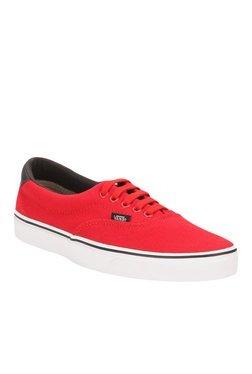 Vans Era 59 Racing Red & Black Sneakers