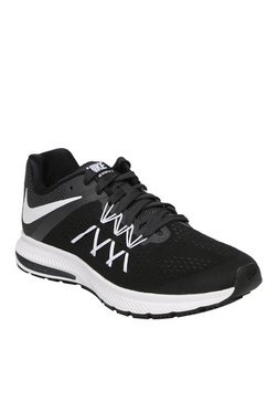 Nike Zoom Winflo 3 Black & White Running Shoes