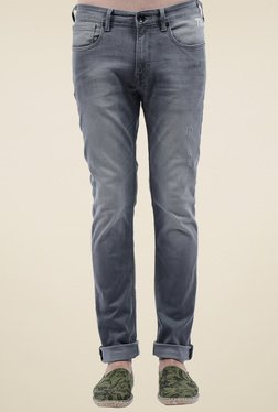 Pepe Jeans Grey Mid Rise Jeans