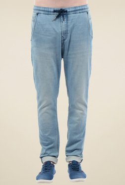Pepe Jeans Light Blue Mid Rise Jeans