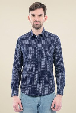 Pepe Jeans Navy Slim Fit Shirt
