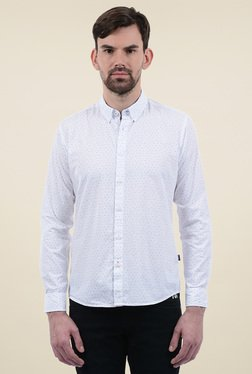 Pepe Jeans White Slim Fit Shirt