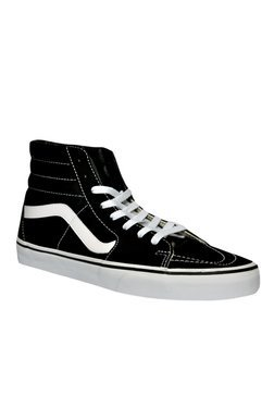 Vans SK8-HI Black & White Ankle High Sneakers