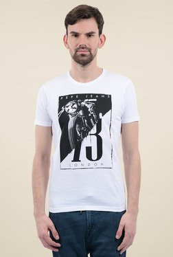 Pepe Jeans White Short Sleeves T-Shirt - Mp000000001290451