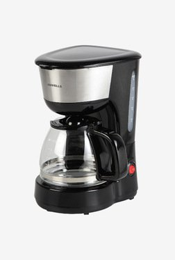 Havells Drip Cafe N 6 6 Cup Coffee Maker (Steel/Black)