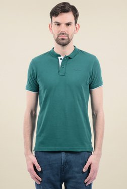 Pepe Jeans Green Short Sleeves Polo T-Shirt