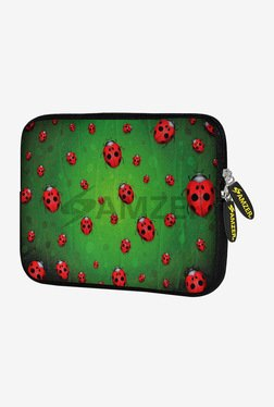 Amzer Green Lady Birds 7.75 Inch Sleeve for HP Slate 7
