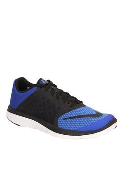 Nike FS Lite Run 3 Blue & Black Running Shoes
