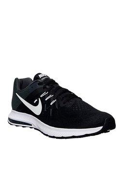 Nike Zoom Winflo 2 Black & White Running Shoes