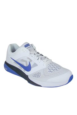 10b72f5d568c Nike Tri Fusion Run MSL White   Blue Running Shoes