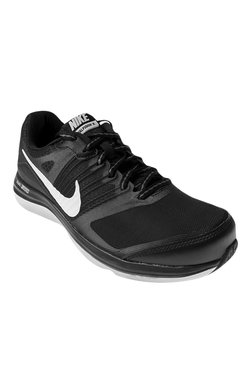 Nike Dual Fusion X MSL Black & White Running Shoes
