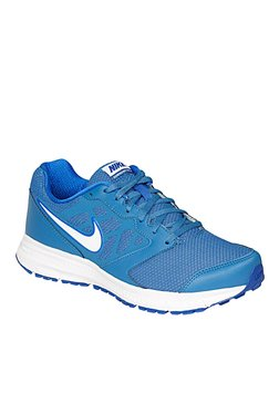 Nike Downshifter 6 MSL Blue & White Running Shoes