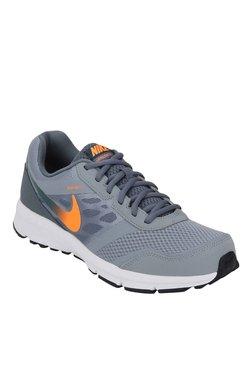 Nike Air Relentless 4 MSL Grey & Orange Running Shoes