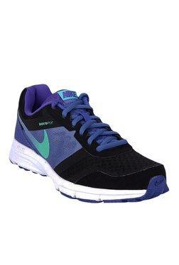 Nike Air Relentless 4 MSL Black & Blue Running Shoes