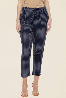 109 F Navy Stripes Pant