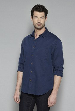 Westsport by Westside Navy Relaxed Fit Shirt