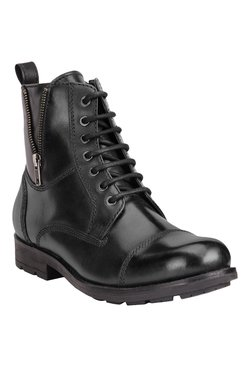 Teakwood Leathers Black Casual Boots