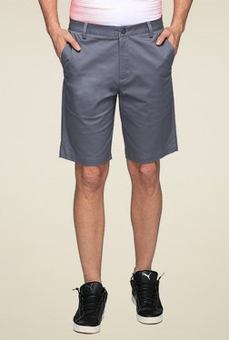 Puma Grey Regular Fit Shorts