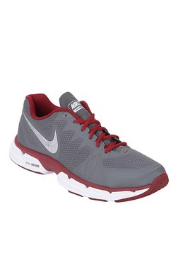 Nike Dual Fusion TR 6 Grey & Red Training Shoes