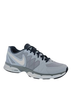 Nike Dual Fusion TR 6 Grey & Navy Training Shoes