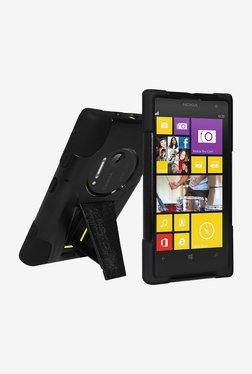 Amzer Hybrid Case For Nokia Lumia 1020 (Black/Black)
