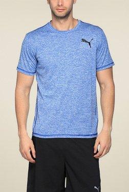 Puma Blue Round Neck TShirt