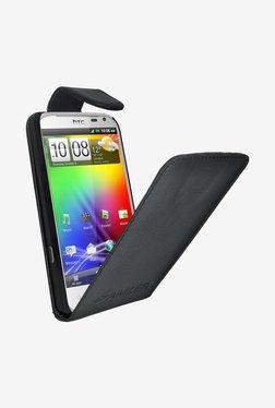 Amzer Flip Case  For HTC Sensation XL (Black)
