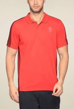 Puma Coral Regular Fit Polo TShirt